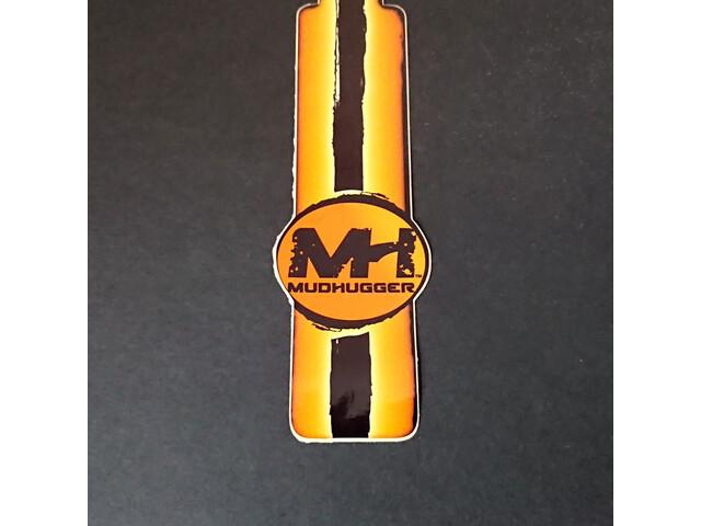 Mudhugger Shorty Decals 5 stuks, orange